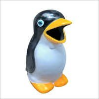 Kid Penguin Dustbin