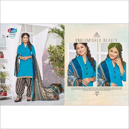 Patiyala Dress Materials Wholesale