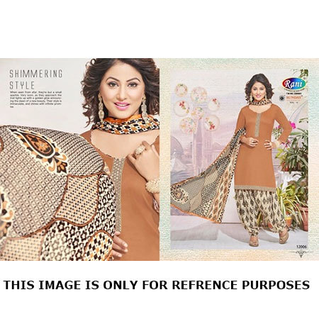 Rani Sunday Patiyala Dress Materials