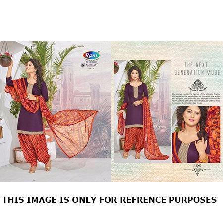 Unstitched Patiyala Dress Wholesale