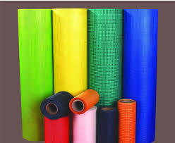 Colored Fiberglass Mesh Roll