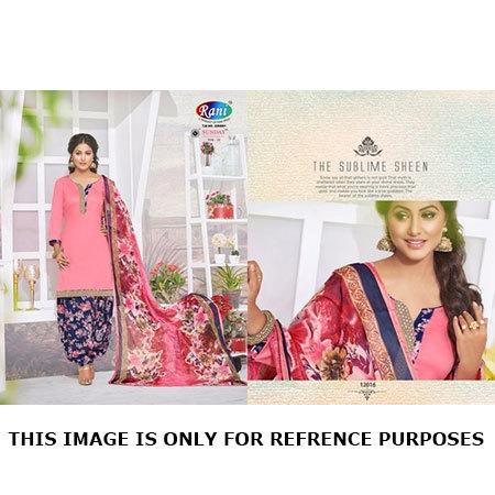 Patiyal Unstitched Dress Materials