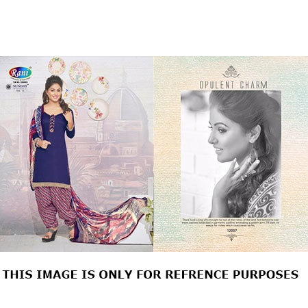Latest Patiyala Dress Materials Catalog