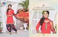 Patiyal Unstitched Dress Materials Wholesale