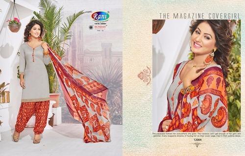 New Patiala Cotton Dress Materials