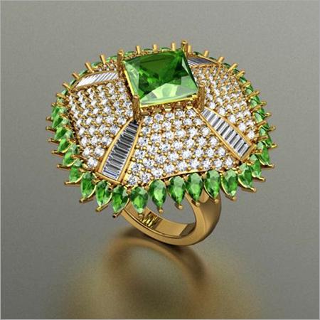 Modern Diamond Cocktail Rings