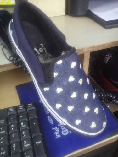 Assorted Print Canvas Casuals Shoe