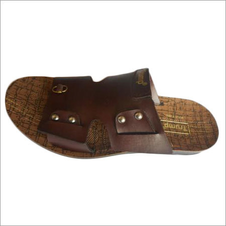 Gents Brown Slipper