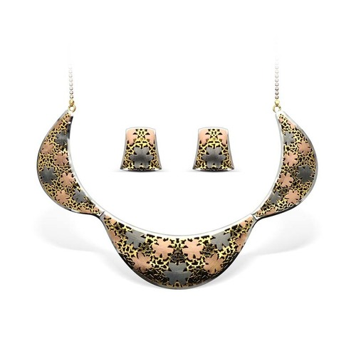 Italian Gold Necklace Set