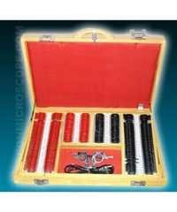 TRIAL LENS SET ( RED & BLACK ) WOODEN BOX