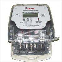 AC 1 Phase 2 Wire Static Meter