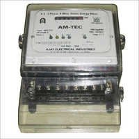 AC 3 Phase 4 Wire Static Energy Meter