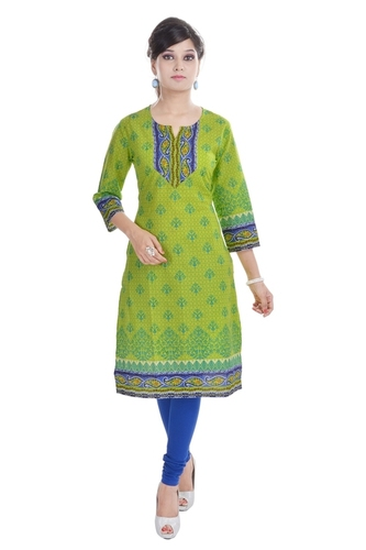 Long Formal Cotton Kurti