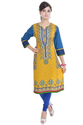 Design Long Sleeve Kurti