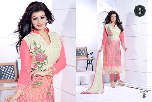 Latest Neck Design Salwar Kameez Wholesale