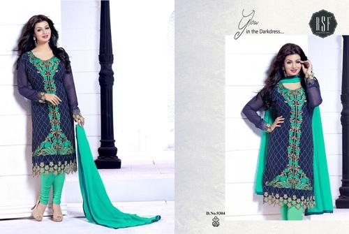 Latest Neck Design Salwar Kameez Materials