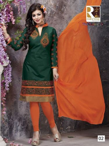 Embroidery Cotton Salwar Kameez