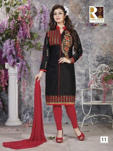 Embroidery Cotton Salwar Suits
