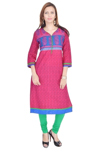 Stylish New Cotton Kurti