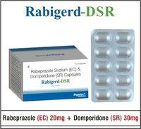 Rabeprazole 20 + Domperidone (S.R) 30