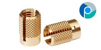 Brass Knurled Expansion Inserts