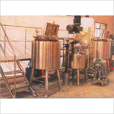 Onitment-Cream Processing Plants