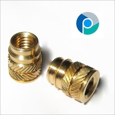 Brass Press In Inserts
