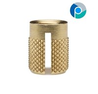 Brass Reverse Headed Knurled Inserts