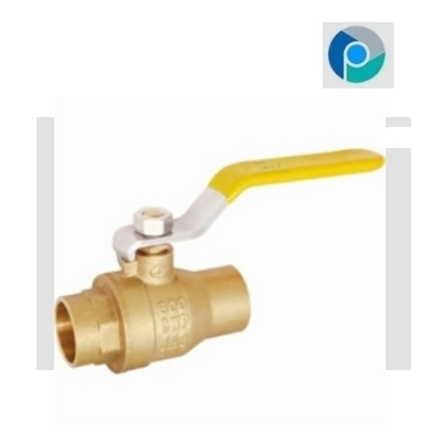 Brass 2 Piece Threaded Ball Valve