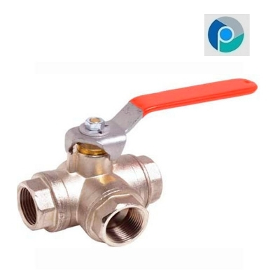 Brass 3 Way Ball Valve