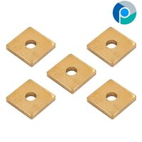 Brass Square Washer