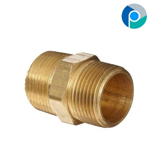 Brass Hex Nipple