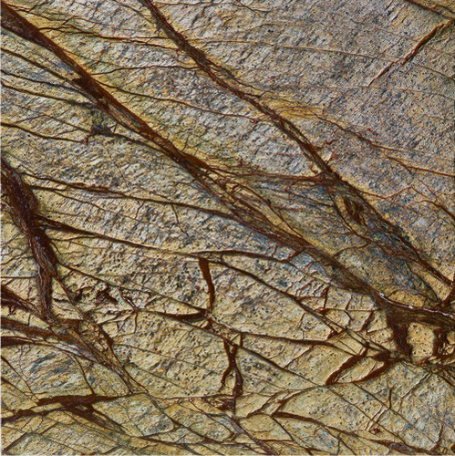 Rainforest Brown Antique Finish Marble