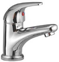 Brass Single Lever Basin Mixer With Pop Up