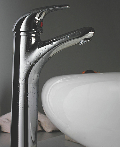 Single Lever Basin Mixer With Pop Up Waste