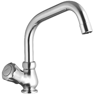 Brass Sink Cock Swinging Extention Spout