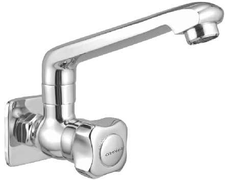 Brass Sink Cock With Swinging Spout