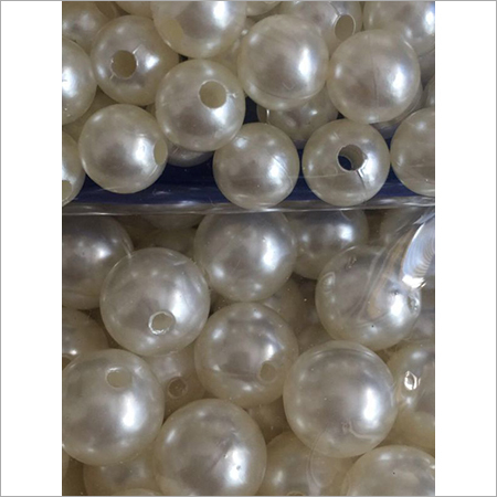 Abs Round Beads Big Hole