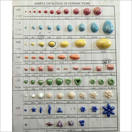Ceramic Pearl Beads