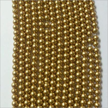 Dull Giolden Beads