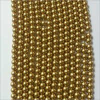 Dull Golden Beads