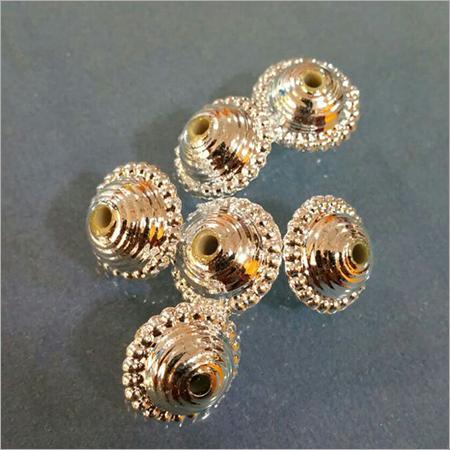 Golden Metallized Beads Bhanwara