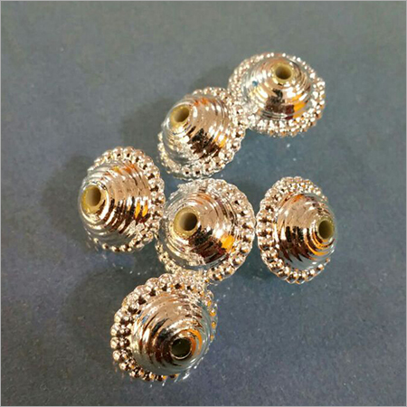 Golden Metallized Beads Bhanwara