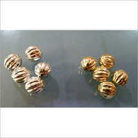 Golden Metallized Beads Kharbuja Items