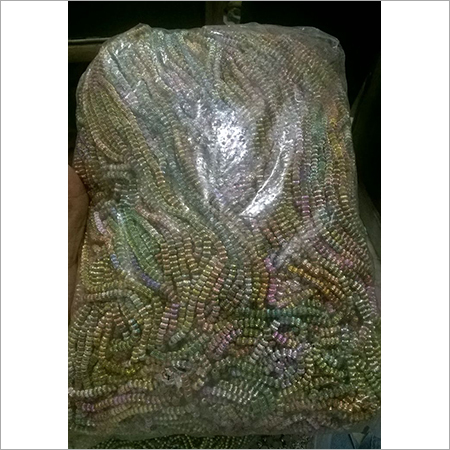 Golden Rainbow Metallized Beads