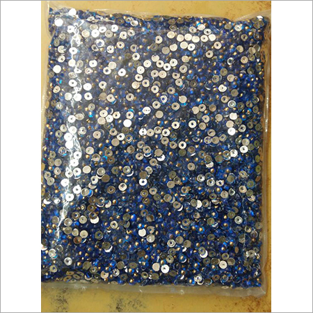 Acrylic Taklu Beads (Half Round Beads)