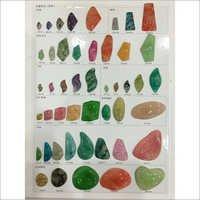 Taklu Stone Bangles Metallized