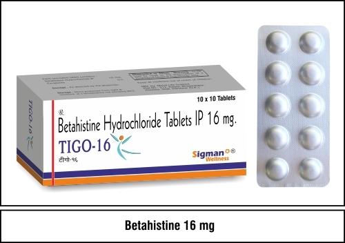 Betahistine 16 mg