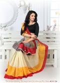 Exclusive Cotton Silk Saee