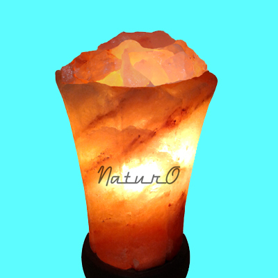 Naturo Rocksalt Crystal Tower Lamp